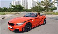 Xế độ BMW Z4 Rowen đầu tiên ở Sài Gòn