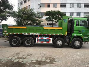 xe tải ben 4 chân thùng vuông
